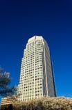 明尼亚波利斯富国银行广场在温斯顿萨兰姆, NC 免版税图库摄影