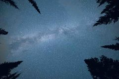 明尼苏达银河 免版税库存图片
