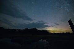明尼苏达银河 库存图片