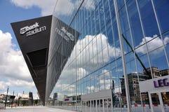 明尼苏达维京人美国银行体育场在米尼亚波尼斯 免版税库存照片
