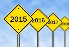 明年 免版税库存照片