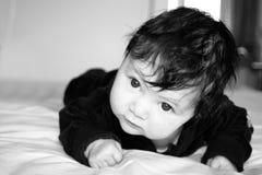 明智的婴孩 免版税图库摄影