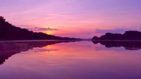 黎明湖 图库摄影