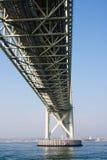 明石桥梁 库存图片