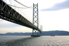 明石桥梁kaikyo 免版税图库摄影