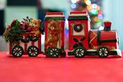 明确圣诞老人的` s 库存照片