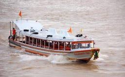 明确小船曼谷 免版税库存图片