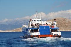 明确的Dodekanisos,哈尔基岛 免版税图库摄影