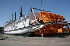 明轮船, Whitehorse,育空 库存图片