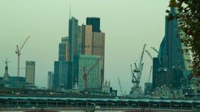 黄昏在伦敦市,都市风景 影视素材