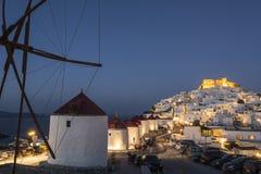 黄昏的斯坦帕利亚岛 库存照片