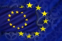 贸易与工业-欧盟 免版税图库摄影