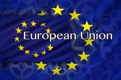 贸易与工业-欧盟 免版税库存照片