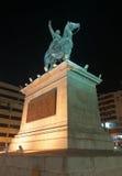 易卜拉欣巴夏雕象,开罗,埃及 免版税库存照片