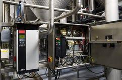 易变的速度推进变换器交换器,电压安定的单位 库存图片