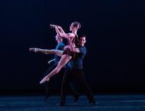 易弯的鸟古典芭蕾` Austen汇集` 库存照片