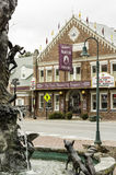 以货易货剧院在Abingdon,弗吉尼亚 库存图片