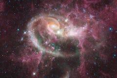 星云和星在外层空间 宇宙艺术,科幻墙纸 美国航空航天局装备的这个图象的元素 库存图片