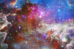 星云和星系在空间 美国航空航天局装备的这个图象的元素 免版税图库摄影
