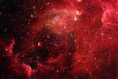 星云和星系在空间 美国航空航天局装备的这个图象的元素 库存图片