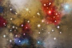 星云星形 库存图片