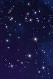 星云空间星形 免版税图库摄影