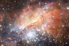 星云 适用于墙纸的外层空间图象 美国航空航天局装备的这个图象的元素 免版税库存照片