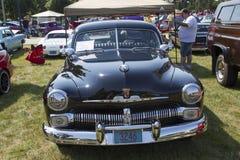 1950年水星俱乐部小轿车 免版税库存图片