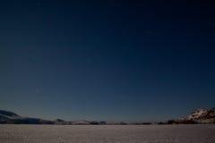 星光的天空 免版税库存照片