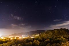 星和城市 库存图片