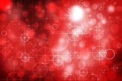 星和Bokeh背景 图库摄影