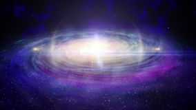 星圈五颜六色的星系  影视素材