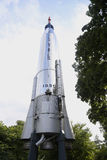 水星地图集D火箭队在纽约科学冲洗的火箭队公园霍尔  免版税库存图片
