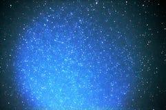 星夜球群天文 库存照片