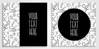 星座与拷贝空间的传染媒介背景文本的 免版税库存图片