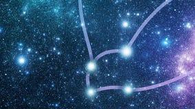 星座Cetus (Cet) 影视素材