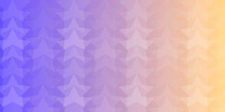星形五颜六色的抽象背景 免版税图库摄影