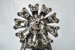 星形发动机 免版税图库摄影