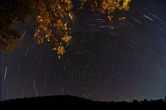 星形圈子 库存图片