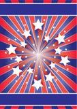 星形数据条 免版税库存照片