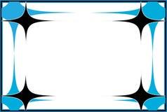 星形状传染媒介框架 库存图片