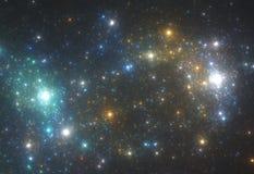 星形背景 库存图片
