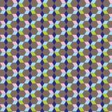 星无缝的样式背景减速火箭的葡萄酒设计 库存照片