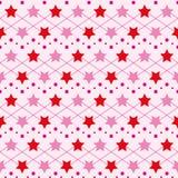 星无缝的纹理 库存图片