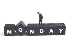 星期一 图库摄影