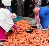 星期二Souk在艾兹鲁,摩洛哥 免版税库存图片
