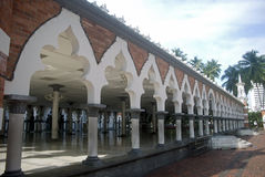 星期五吉隆坡马来西亚清真寺 免版税库存照片