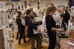 黑星期五在丹麦 免版税图库摄影