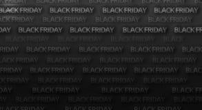黑星期五大胆的字体背景 库存照片