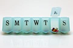 星期五的药片 免版税库存图片
